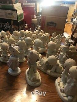 Precious Moment Lot 40 Various Figurines