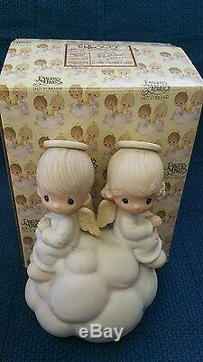Precious MomentsBUT LOVE GOES ON FOREVER DEALERS Collector Center rarest #7350