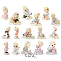 Precious Moments 01-16 Bundle of Growing in Grace Blonde Set of 16 Ages One