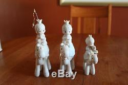 Precious Moments 108243 They Followed the Star Mini Nativity Add-On Mint 1987
