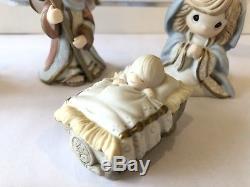 Precious Moments 131064 Come Let Us Adore Him 11 Piece Nativity INCOMPLETE
