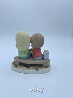 Precious Moments 183002 I Love You Smore Every Day Camping Figurine