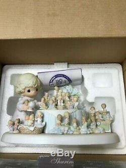 Precious Moments 2002 From The Beginning 25th Anniversary #110238 With Box
