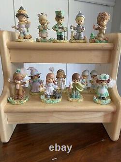 Precious Moments 2003 Wizard of Oz Emerald City 12 Figurines