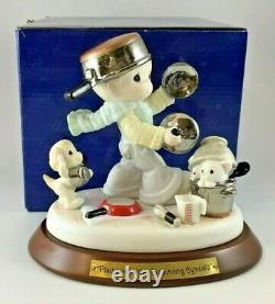 Precious Moments 2004 Praise Him With Resounding Cymbals LE 4001572 NEW