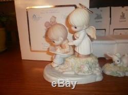 Precious Moments 2014 Family Reunion Event Figurine 149002 & 4 Small Figurines