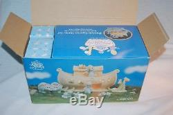 Precious Moments 530948 Noah's Ark Two By Two 1992 Butterfly Mark 8 Pc Set