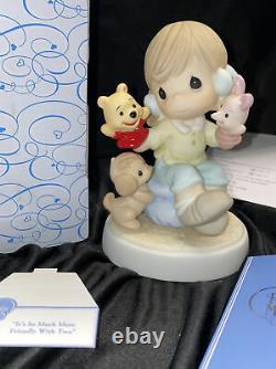 Precious Moments 720019 Walt Disney Winnie The Pooh PIGLET 2007 Figurine MIB