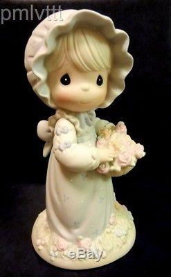 Precious Moments 9 Inch You Are The Rose Of His Creation 531243 With Box