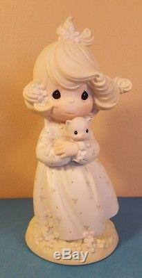 Precious Moments 9 Tall You Are Such A Purr-fect Friend #526010 Signed X3