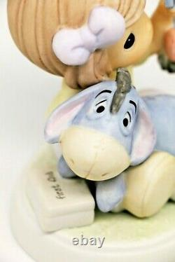 Precious Moments A FRIEND IN NEED. 720017 Disney Eeyore and Friend indeed