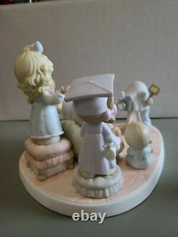 Precious Moments A PORTRAIT OF LOVING CARING AND SHARING Porcelain 108543