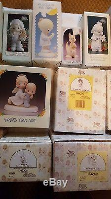 Precious Moments Assorted Lot of 26 Figurines (Lot #1)
