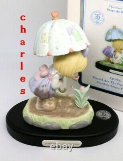 Precious Moments BLESSED ARE THE PURE IN HEART 131065 35th Anniversary Figurine