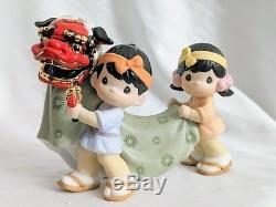 Precious Moments BRINGING IN ANOTHER GRRREAT YEAR Japanese Exclusive RARE HTF