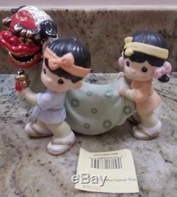 Precious Moments BRINGING IN ANOTHER GRRREAT YEAR figurine with box Japanese