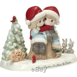 Precious Moments'Being Together No Matter.' Limited Edition Christmas 181010