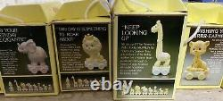Precious Moments Birthday Train Complete Set All 18 Pieces Figurines! New in box