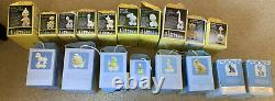 Precious Moments Birthday Train complete Set of 18 Ages 1-16 + Baby & Youth EUC