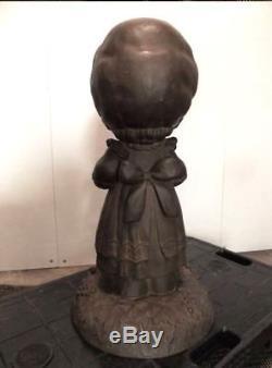 Precious Moments Bronze Copper Statue Figure Doll 21 53cm Sam Butcher VeryRare