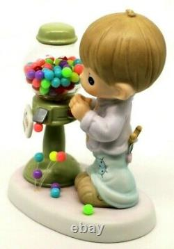 Precious Moments COUNT YOUR MANY BLESSINGS 879274 Boy With Gumballs Limited Ed