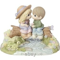 Precious Moments Caught In The Current Of Love, Limited Edition Bisque 183003