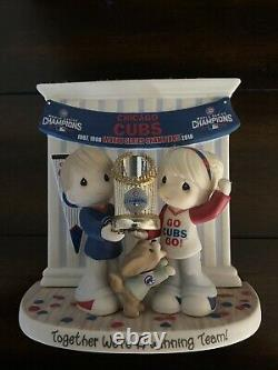 Precious Moments Chicago Cubs World Series Champions Limited Edition
