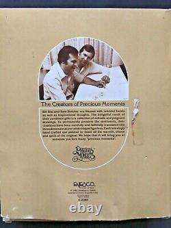 Precious Moments Come Let Us Adore Him Mini Nativity 1982 11 pc Set E-2395 BOX