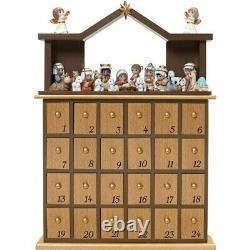 Precious Moments Countdown To Christmas, Nativity Advent Calendar 181402