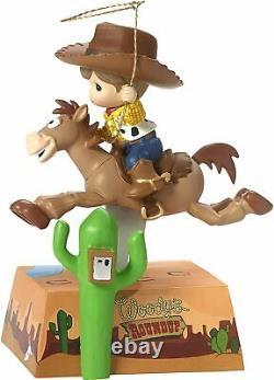 Precious Moments Disney 172060 Toy Story Woody Bullseye Figurine Musical NEW
