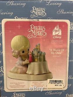 Precious Moments Disney A WORLD OF MY OWN 690004D Princess Aurora