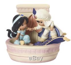 Precious Moments Disney Aladdin & Jasmine Magical World LmtEd NEW 2019 192012