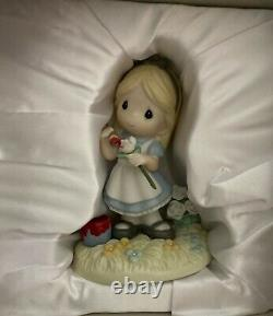 Precious Moments-Disney-Alice In Wonderland-You Make My World A Wonderland-withBOX