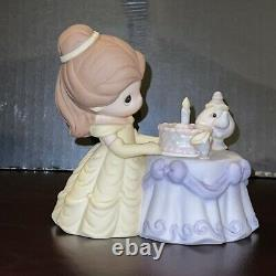 Precious Moments-Disney-Belle, Chip, & Mrs. Potts-Beauty And The Beast