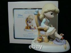 Precious Moments Disney Cinderella Jaq Gus Your Love Is Perfect Fit 114009 NEW