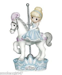 Precious Moments Disney Cinderella Love Always Comes Around Figurine #131037 MIB