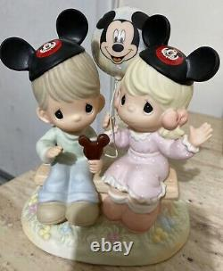 Precious Moments Disney Happiness Is Best Shared Together 4004156