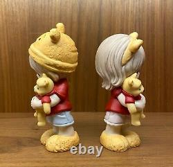 Precious Moments Disney Hunny, There's Nobody Sweeter Than You, Set of 2 RARE