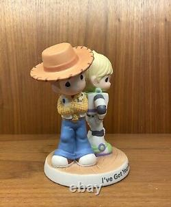 Precious Moments Disney I've Got Your Back Woody & Buzz Toy Story, Rare