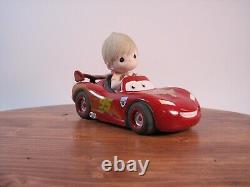 Precious Moments Disney Keeping It Wheel Lightning McQueen Cars -112028