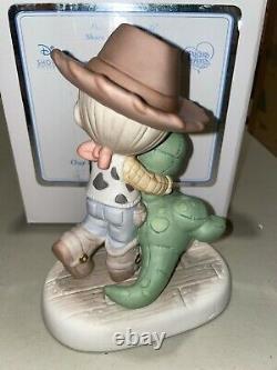 Precious Moments Disney Love Will Never Go Extinct Woody Rex Toy Story 122006