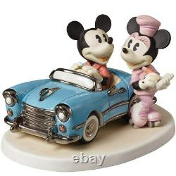 Precious Moments Disney Mickey Mouse and Minnie Mouse You Make My Heart 152706