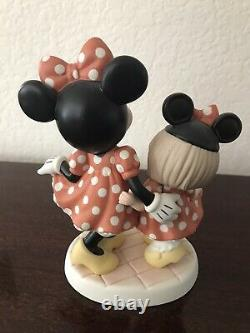 Precious Moments Disney Minnie And Me 790022 Signed By Hilo Maeda