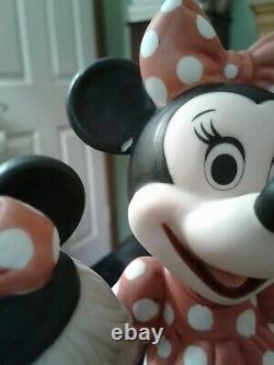 Precious Moments Disney Minnie And Me Porcelain Figurine