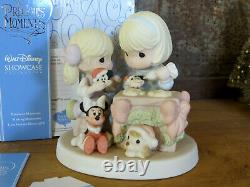 Precious Moments Disney Showcase 710039 Nothings Sweeter Than Time Together New