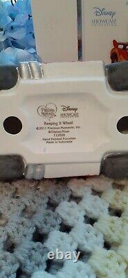Precious Moments Disney Showcase Keeping It Wheel Cars MIB Rare