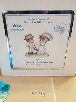 Precious Moments Disney Showcase-Mary Poppins & Bert Rare