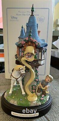 Precious Moments Disney Showcase Rapunzel Musical Tower 153101