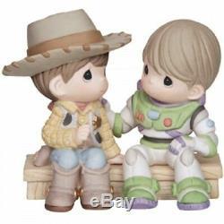 Precious Moments Disney Toy Story You've Got A Friend Figurine #134008