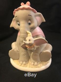 Precious Moments Disney Your Love Is So Comforting Figurine Dumbo Mother Jumbo